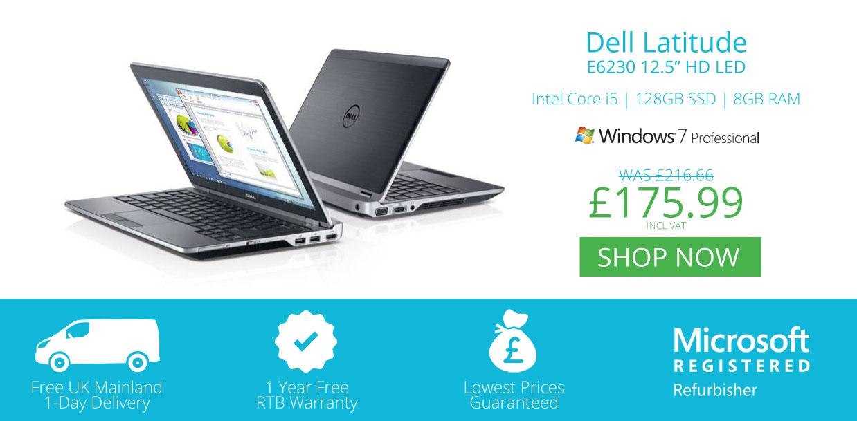 Refurbished Laptops Dell E6230